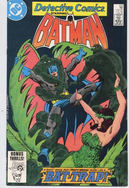 DC Detective Comics #534 Bruce Wayne Dick Grayson Gotham City Action Adventure