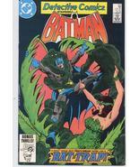 DC Detective Comics #534 Bruce Wayne Dick Grayson Gotham City Action Adv... - $6.95