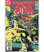 DC Detective Comics #510 Bruce Wayne Dick Grayson Gotham City Action Adv... - $6.95