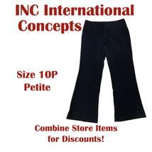INC International Concepts Women's Size 10P Petite Black Dress Pants Sla... - $22.95