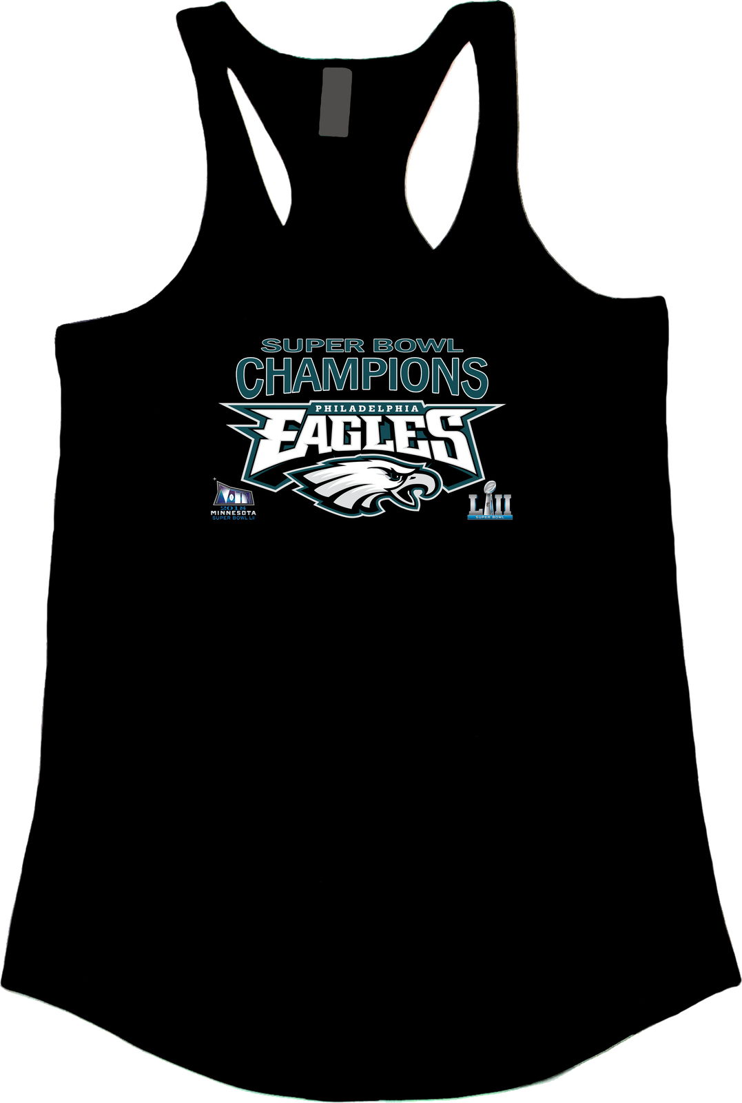 Women s black 2018 super bowl tank top