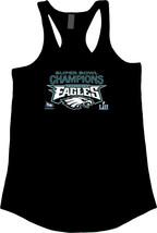 2018 Super Bowl LII Champions Philadelphia Eagles Women's Scallop Bottom Tanks - $22.76