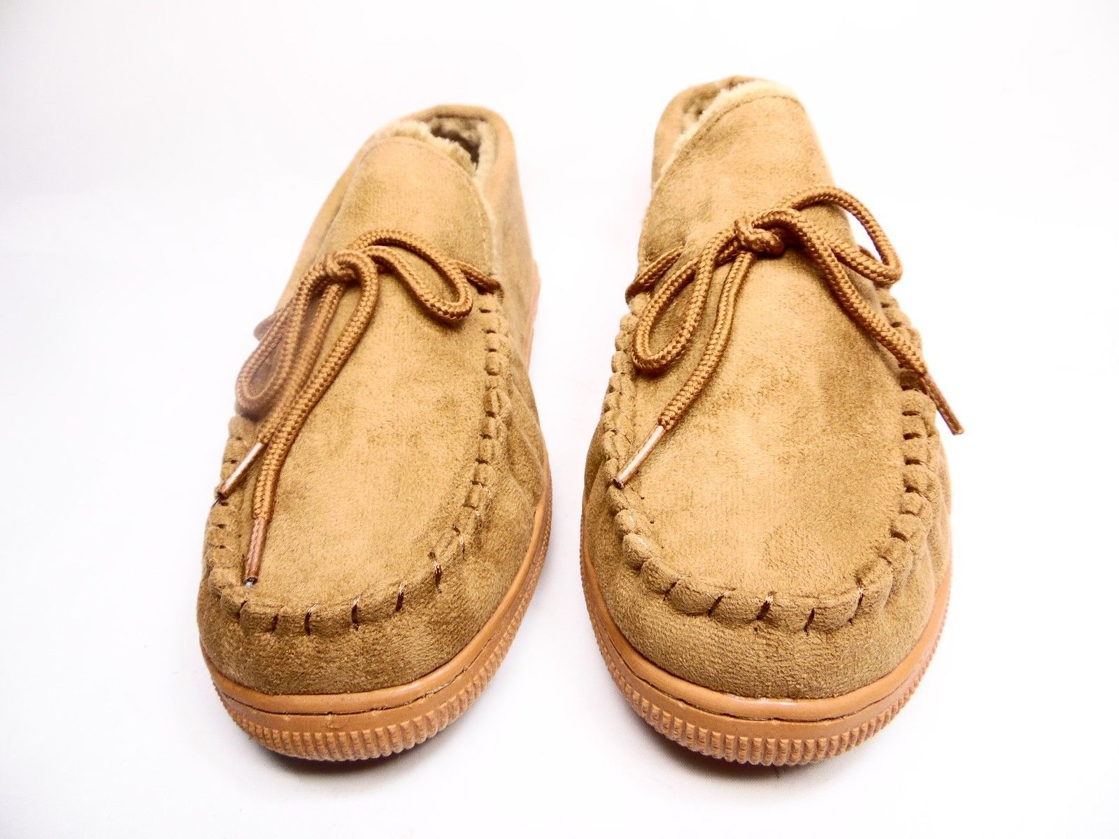 Primary image for Boston Traveler  Moccasin Slippers 212M Hickory Size 10