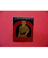 Surrender Like Hell! Collector Souvenir Joke Lapel Pin Hat Pin Vintage H... - $4.99