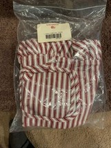 Longaberger Liner - 1994 Forever Yours - Red Ticking - $14.99