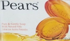 Pears Gentle Care Transparent Bar Soap - 2 Bar Pack - 3.5 oz each - (7oz) - $6.49