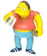 The Simpsons Barney Gumble Action Figure Playmates Toys NIB Voice Activa... - $29.69