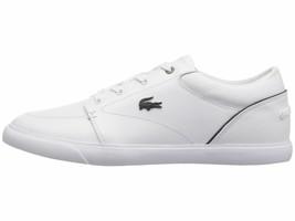 Lacoste Bayliss 318 2 White Navy Men's Shoe Fashion Sneaker 36CAM0007042 - $83.95