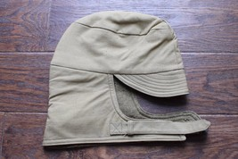 ORIGINAL US ARMY WWII WOOL LINED WINTER CAP COLD WEATHER HAT M41 OD KHAKI - $37.95