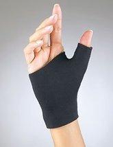 BSN Medicals thumb support prolite pull on fits wrist, Black, Size : 6 X 6.5 inc - $14.59