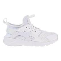 Nike Huarache Ultra Little Kid's Running Shoes White-White 859593-100 - $74.95