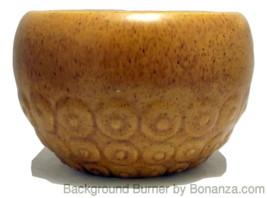Vintage Haeger Pottery Tuscan gold speckled pla... - $10.00