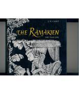 THE RAMAKIEN - Thai bas-reliefs - 1971 1st ed. - VERY SCARCE - $65.00