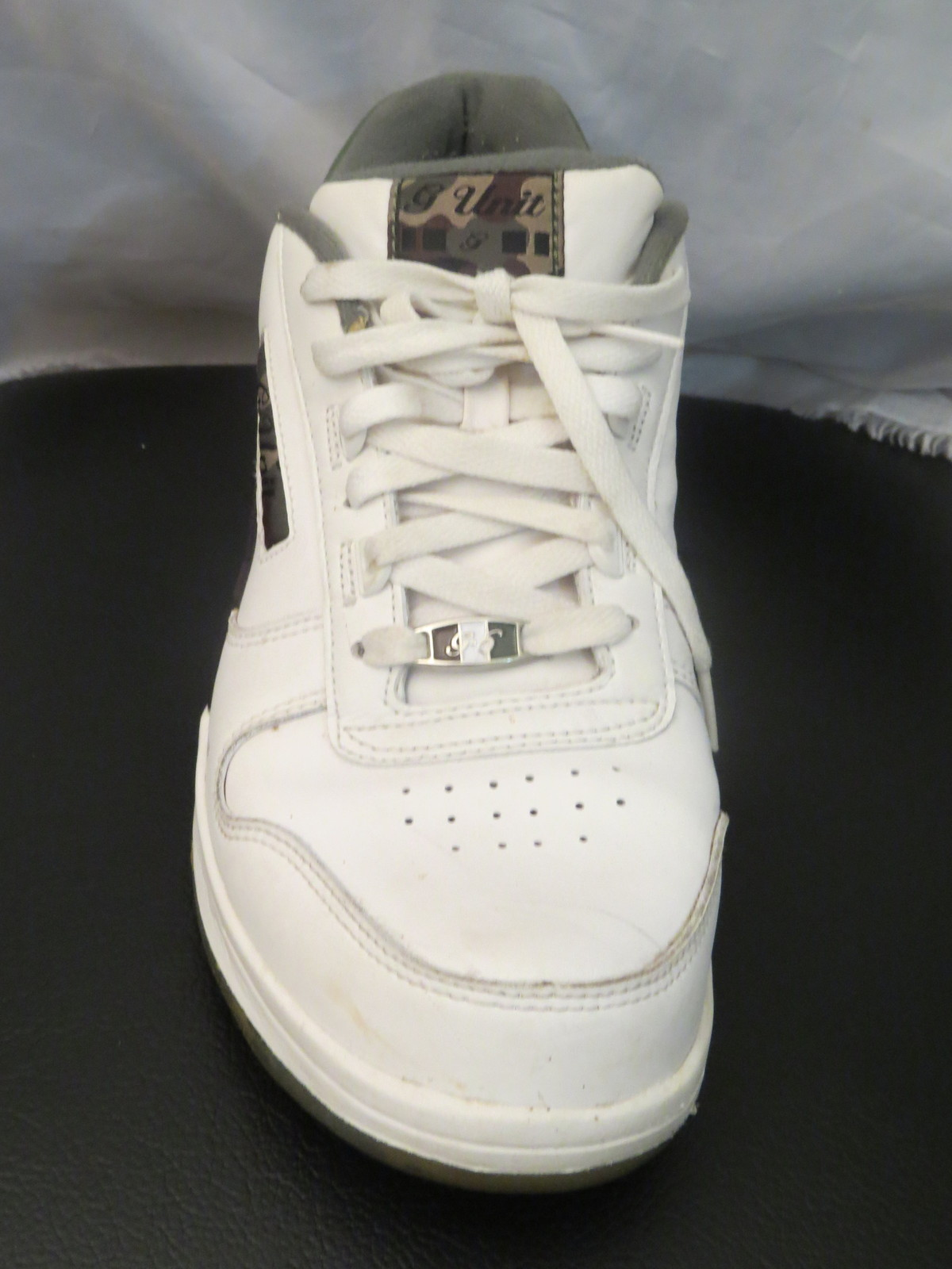 G-Unit G6 Series 2 Sneakers by Reebok - White with Cammo Colorway - Men's 11