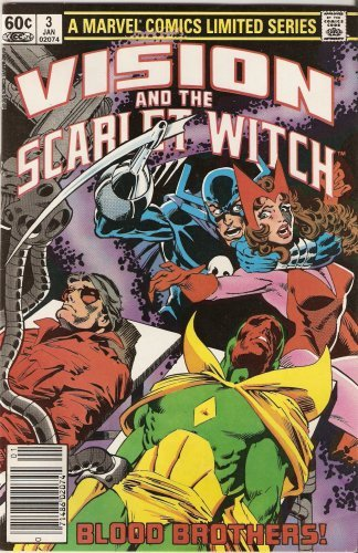 The Vision and the Scarlet Witch #3 January 1983