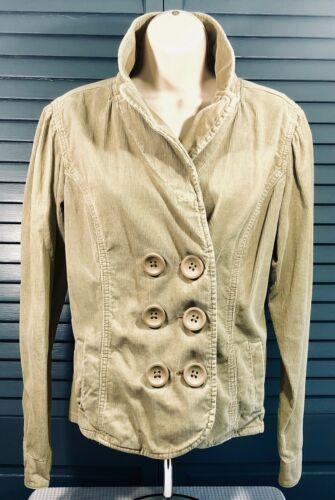 Primary image for Levis Strauss Signature Corduroy Jacket Blazer Brown Button Womens Large