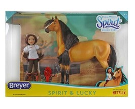 Breyer classic size Spirit & Lucky Horse Doll Gift Set <> - $27.08