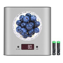 Digital Kitchen Scale - 5kg 10lb Multifunction Stainless Steel Food Scal... - €24,21 EUR