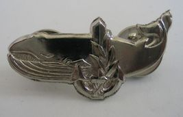 IDF auxiliary ship crew pin Israel army navy whale badge - $9.99
