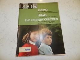 LOOK MAGAZINE OCT 5, 1965 THE KENNEDY CHILDREN - $1.98