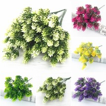 35Heads plastic Pineapple Bouquet Artificial green Plants for Home table... - $6.05