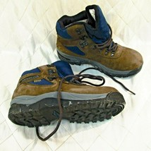 Merrell Hiking Boots Eagle Waterproof Womens Size 8.5 Excellent Brown Suede - $46.14