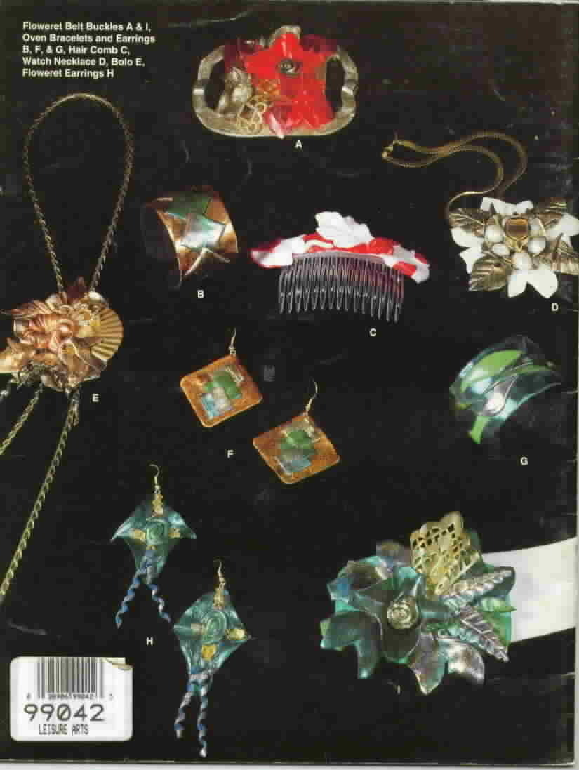 More Plastic Glamour Dazzling Jewelry by Jeri Mertes Pins Earrings Bracelets