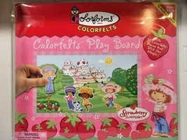 Colorfelts Play Board - Strawberry Shortcake - by Colorforms  -=NEW=- - $18.95