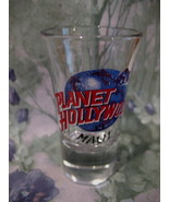 Planet Hollywood Maui Hawaii Souvenir Shot Glass Collector Vintage Hawaiian - $4.95