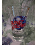 Planet Hollywood Shot Glass South Coast Plaza CALIFORNIA Souvenir Collector - $5.95