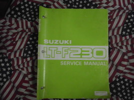 1986 Suzuki LTF230 LT F230 Service Repair Shop Workshop Manual OEM BOOK 86 - $79.15