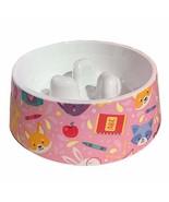 PANDA SUPERSTORE Cute Dog Slow Feed Bowl Dog Bowl Imitation Ceramic Mela... - $25.06