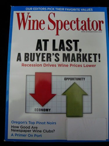 Wine magazine jan 2010