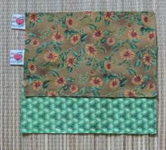 Rosin Cloth Set of Two For Fiddle/Violin/Flowers/FiddleBelle Brand/Made  - $4.99