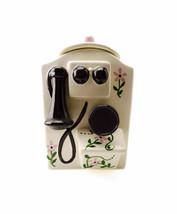 Vintage Cookie Jar Sierra Vista Ceramics of California Wall Telephone Pi... - $76.90