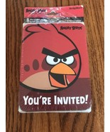Angry Birds 8 Invitations Thank You Post Cards Design Ware Ships N 24h - $4.93