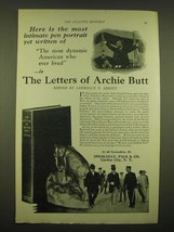1924 Doubleday, Page & Co. Ad - Here is the most intimate pen portrait yet  - $14.99
