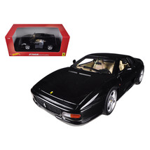 Ferrari F355 Berlinetta Coupe Black 1/18 Diecast Car Model by Hotwheels ... - $75.60