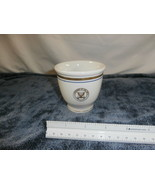 Vintage US Navy Egg Cup by Jackson China Gold Navy Seal - $19.55