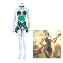 Game LOL the Lady of Luminosity Luxanna Crownguard Dress Cosplay costume... - $45.99