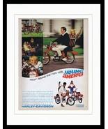 1966 Harley Davidson Sportcycle Framed 11x14 ORIGINAL Vintage Advertisement - $41.71