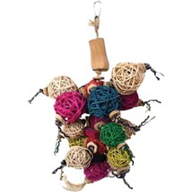 A&e Cage Assorted Java Wood Ball Thing Bird Toy 10x14 In - £37.46 GBP
