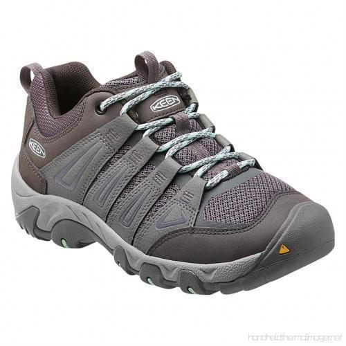 Keen Oakridge Gray/Clear Aqua Women's Hiking Shoes Sz 8 M ***New***