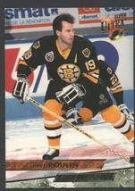Boston Bruins Dave Poulin 1993 Fleer Ultra Hockey Card 193 nr mt - $0.45
