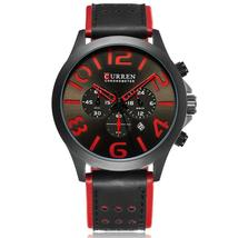 Curren Reloj Hombre Mens Watches Brand Luxury Men Military Sport Wristwatch Quar - $43.03