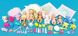 Barbie Baby Sister Krissy 6 Infant Doll Figure Nursery Toys Happy Family... - $59.95