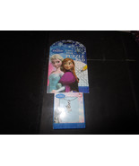"Disney Frozen Olaf Snowman Necklace w/16"" Chain Frozen Carry Along Puzzl... - $5.87"