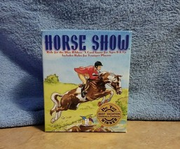 Horse Show Ride For The Blue Ribbon Card Game Ages 8+ Dr. Toy Winner! - $7.87
