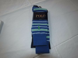 Mens Polo Ralph Lauren 2 pk socks sock size 10-13 royal  ZP113823PK soli... - $16.33