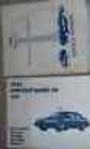 1992 Lincoln Segno VII Servizio Riparazione Negozio Manuale Factory Libr... - $33.98